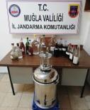 DAMACANA - Datça Jandarması Kaçak İçki İmalathanesini Ortaya Çıkardı