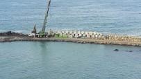 Denizkonak Balıkçı Barınağında Çalışmalar Devam Ediyor