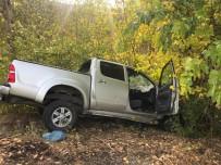 Jandarma aracı kaza yaptı: 1 şehit, 2 yaralı