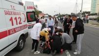 HAFRİYAT KAMYONU - Hastane Önünde Kaza Açıklaması 1 Ölü