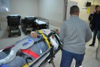 İşçilerini Taşıyan Minibüs Devrildi Açıklaması 2'Si Ağır 9 Yaralı