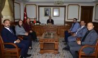 Kırşehir Barosu Yeni Yönetimi Vali Akın'ı Ziyaret Etti