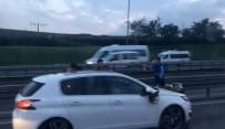 SEFAKÖY - Gelin arabasının önünü kesip terör estirdiler