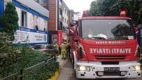 ZIPKIN - Pendik'te Hastanenin Deposunda Yangın Paniği