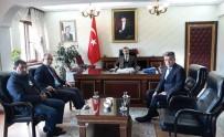 KADIR PERÇI - Proje Koordinatörü Atasever'den Kaymakam Perçi'ye Ziyaret