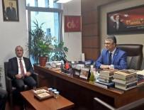 İBRAHIM AYDEMIR - Rektör Çomaklı, Erzurum Milletvekillerini Ziyaret Etti