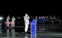 SEYFETTIN AZIZOĞLU - Şehit Jandarma Uzman Çavuş Düzenlenen Törenle Baba Ocağına Uğurlandı