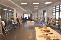 Sinop'ta 3 Boyutlu Kağıt Rölyef Resim Sergisi Açıldı
