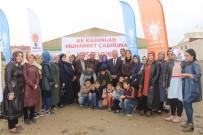 ŞEREFIYE - Van'da 'Ak Kadınlar Muhabbet Çadırları' Kuruldu