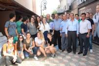 YABANCI ÖĞRENCİLER - Yabancı Öğrenciler İskenderun'da El Sanatları Sergisi Açtı
