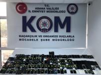 Adana'da Kaçak Telefon Operasyonu