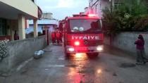 Adana'da Prize Takılı Taşınabilir Şarj Cihazı Patladı