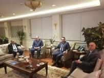 DOĞALGAZ BORU HATTI - Ak Parti Van Milletvekillerinden Bakan Dönmez'e Ziyaret