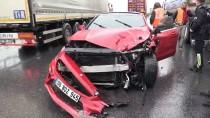 Anadolu Otoyolu'nda Zincirleme Trafik Kazası Açıklaması 8 Yaralı