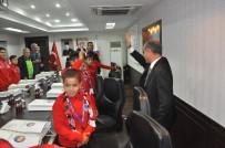 Avrupa Şampiyonlarından Vali Aktaş'a Ziyaret