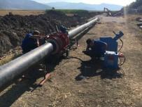 Bucak'ta Taşıyıcı Sulama Borularında Bakım Ve Onarım Çalışmaları Sürüyor