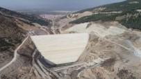 Çay Barajı'nda Çalışmalar Devam Ediyor