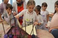 GENEL KÜLTÜR - Çocuklar, SGM'de Eğitim Çalışmalarına Devam Ediyor