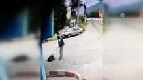 SERVERGAZI - Demir Sopayla Dayak Güvenlik Kamerasında