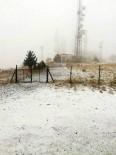 BAĞBAŞı - Denizli'nin Yüksek Kesimlerine Kar Yağdı