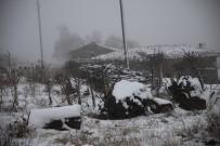 YARıMCA - Eskişehir'de Yüksekler Karla Kaplandı