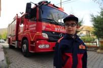İTFAİYE ERİ - Görme Engelli Kerim'in İtfaiyeci Olma Hayali Gerçekleşti