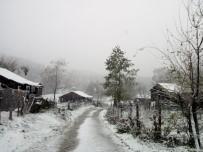 Gümeli'ye İlk Kar Düştü