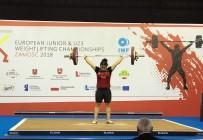 TAŞPıNAR - Halterde Dilara Narin, Avrupa Şampiyonu Oldu