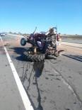 Keşan'da Trafik Kazası Açıklaması 1 Yaralı
