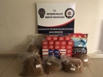 Nevşehir'de 10 Bin 923 Gram Kaçak Tütün Ele Geçirildi