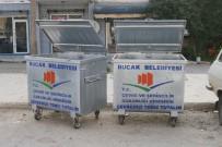 Sıfır Atık Projesi Kapsamında Bucak'a 80 Çöp Konteynırı