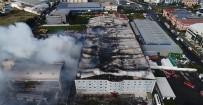 HADıMKÖY - Yangından Geriye Bu Görüntüler Kaldı