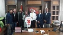 1071 Malazgirt Spor Kulübünden Kaymakam Yalçın'a Ziyaret