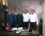 VEYSEL KARANI - AK Parti Çaycuma İlçe Gençlik Kolları Başkanı Değişti