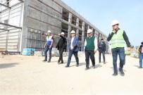 NİKAH SALONU - Aktepe Kültür Merkezi İnşaatı Hızla Yükseliyor