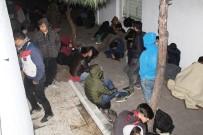 Ayvalık'ta 102 Kaçak Göçmen Yakalandı