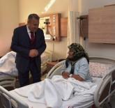 HASTA HAKLARI - Başkan Çerçi'den Hastalara 'Geçmiş Olsun' Ziyareti