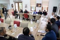 RADYO PROGRAMCISI - Başkan Çetin Medya Temsilcileri İle Buluştu