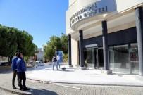 BODRUM BELEDİYESİ - Başkan Kocadon, Kültür Merkezindeki Çalışmaları İnceledi
