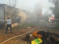 Erdek'te Samanlık Yangını