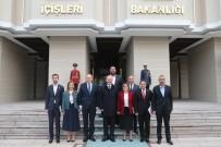 DERYA BAKBAK - Gaziantep Heyeti İçişleri Bakanı Soylu'yu Ziyaret Etti