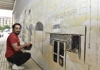 MAMAK BELEDIYESI - Grafiti Mamak'ta Hayat Buldu
