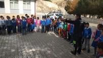 TRAFİK EĞİTİMİ - Gürün'de Polisten Öğrencilere Trafik Eğitimi