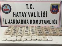 Hatay'da 58 Bin 705 Adet Uyuşturucu Hap Ele Geçirildi