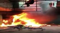 NEÇİRVAN BARZANİ - Irak'ta Erbil'den Sonra Diyala'da Da Bir Çarşı Yandı