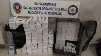 Kahramanmaraş'ta Bin 860 Paket Kaçak Sigara Ele Geçirildi