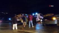 AŞIRI HIZ - Kontrolden Çıkan Otomobil Karşı Yönden Gelen Otomobille Çarpıştı Açıklaması 1 Yaralı