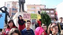 MEHMETÇIK - Lise Öğrencilerinden 'Bilinçli Gençlik, Milli Medya' Projesi