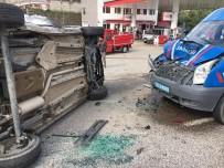Ordu'da Trafik Kazası Ucuz Atlatıldı
