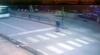 (Özel) Yaşlı Adama Yaya Yolunda Halk Otobüsü Çarptı